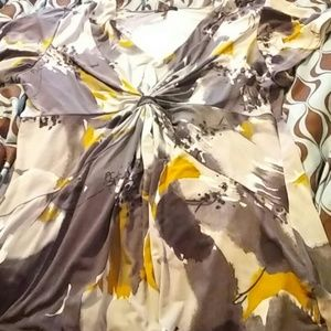 XL daisy fuentes blouse